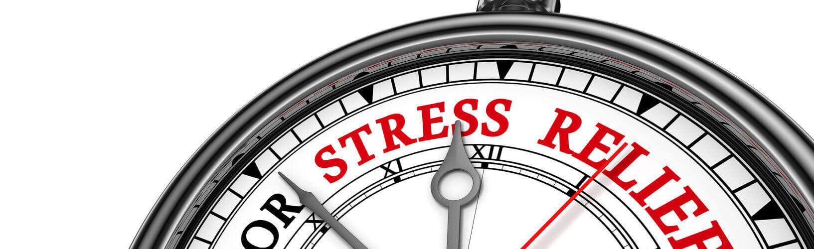 massage helpt bij stress